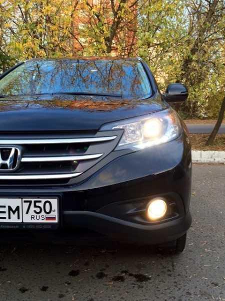 Ближний свет Honda CR-V