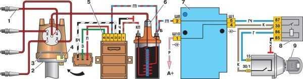 электропроводка ваз 2107