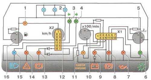электропроводка ваз 21099
