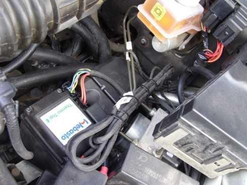 Фото подключенного устройства