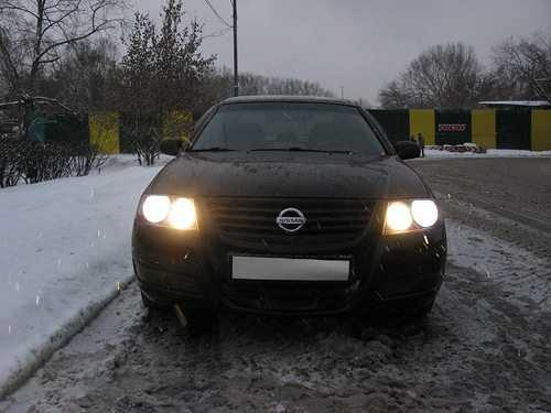 Головное освещение автомобиля Ниссан Альмера Классик