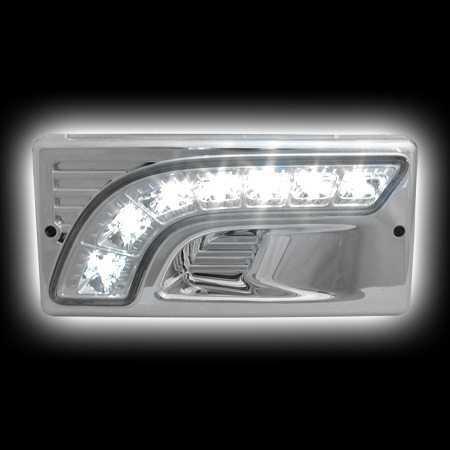 Подобные диоды в фары ВАЗ 2110 не создадут нужный световой поток, т.к. не имеют рефлектора
