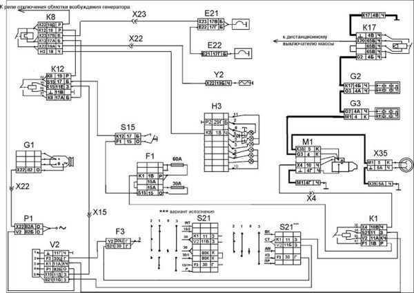 Система пуска дизельного силового агрегата