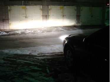 Свет фар не должен слепить встречных водителей