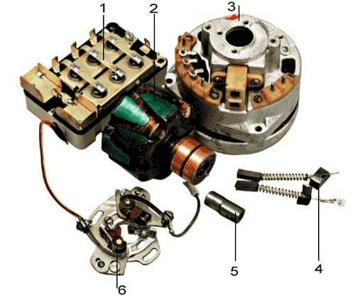 Заводская инструкция: устройство генератора ИЖ Планета 5