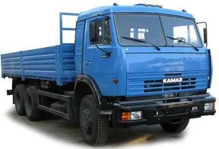 Заводское фото КАМАЗ 53215