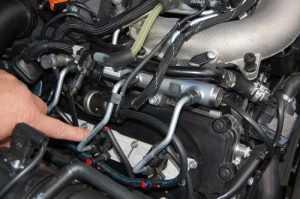 Система топливного впрыска дизельного двигателя