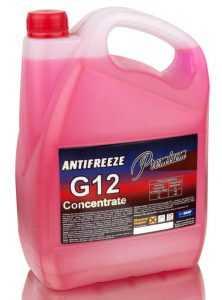 Антифриз G12 свойства особенности рекомендации