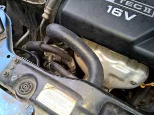Проверка системы охлаждения мотора