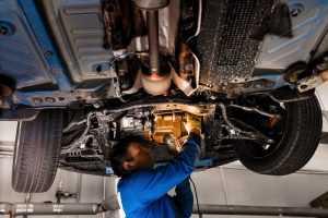 Проверка трансмиссии автомобиля