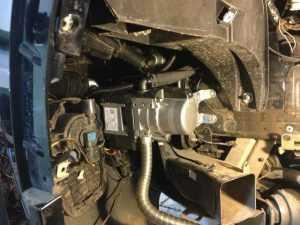 Установка Вебасто на бензиновый двигатель