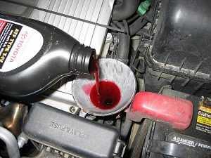Замена масла в АКПП масло в автомат ATF