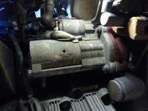 Скрежет при запуске двигателя ремонт стартера