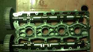 Двигатель с магнитными клапанами