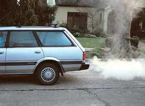 Неэффективное сгорание топлива в дизеле