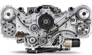 Оппозитный двигатель Субару особенности