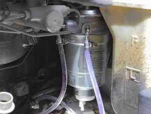 Проверка топливной системы дизеля на герметичность