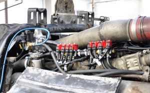 Газовое оборудование на дизельный двигатель