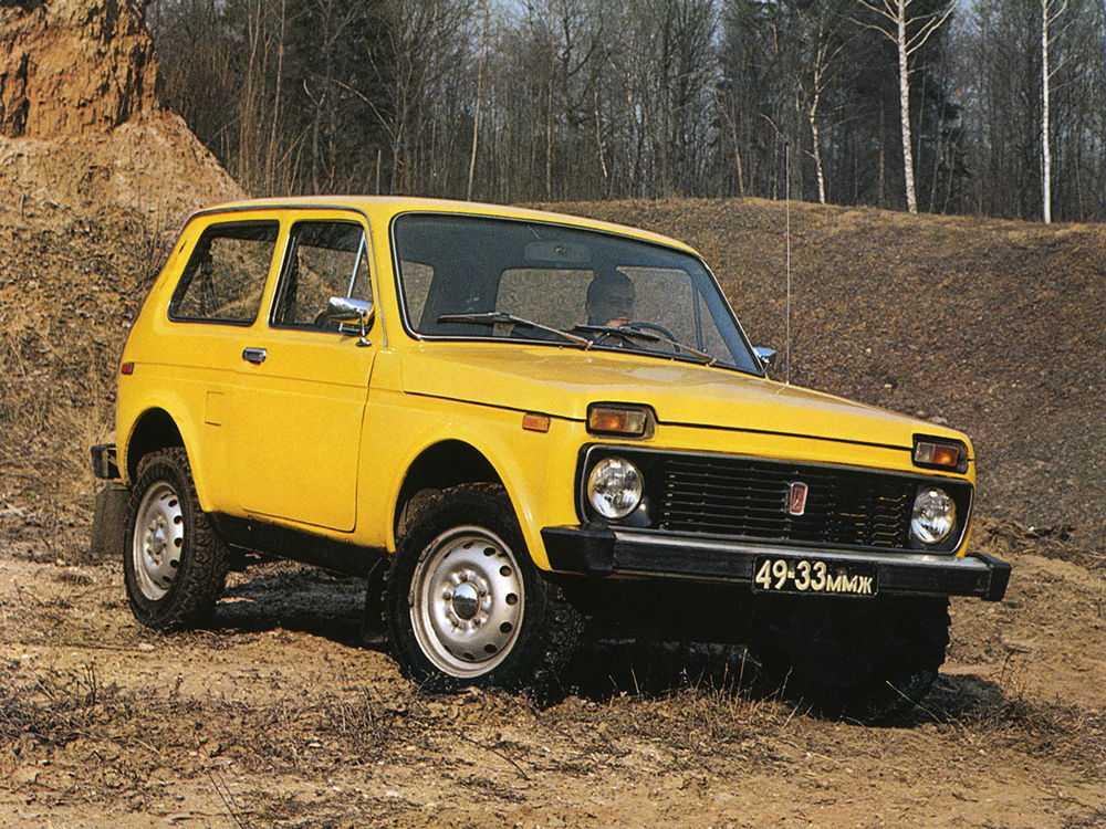 Желтая Нива 2121
