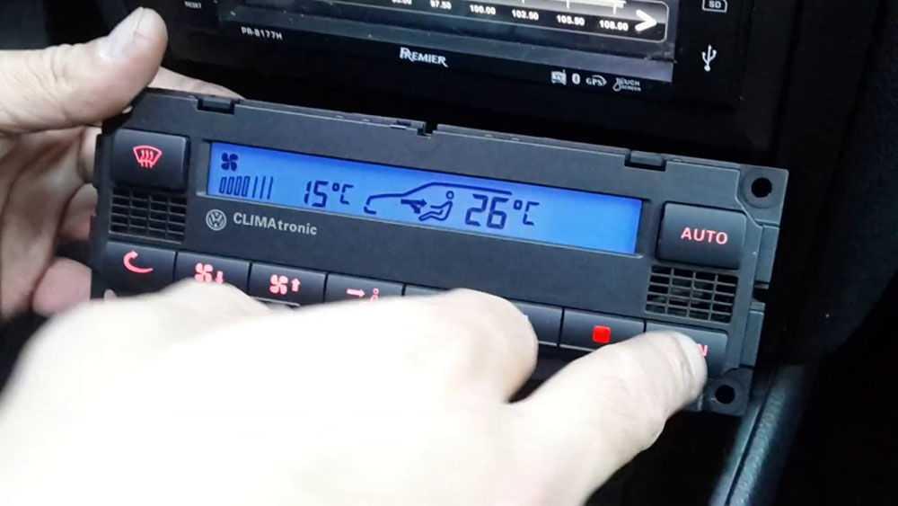 Блок управления системой климат-контроля