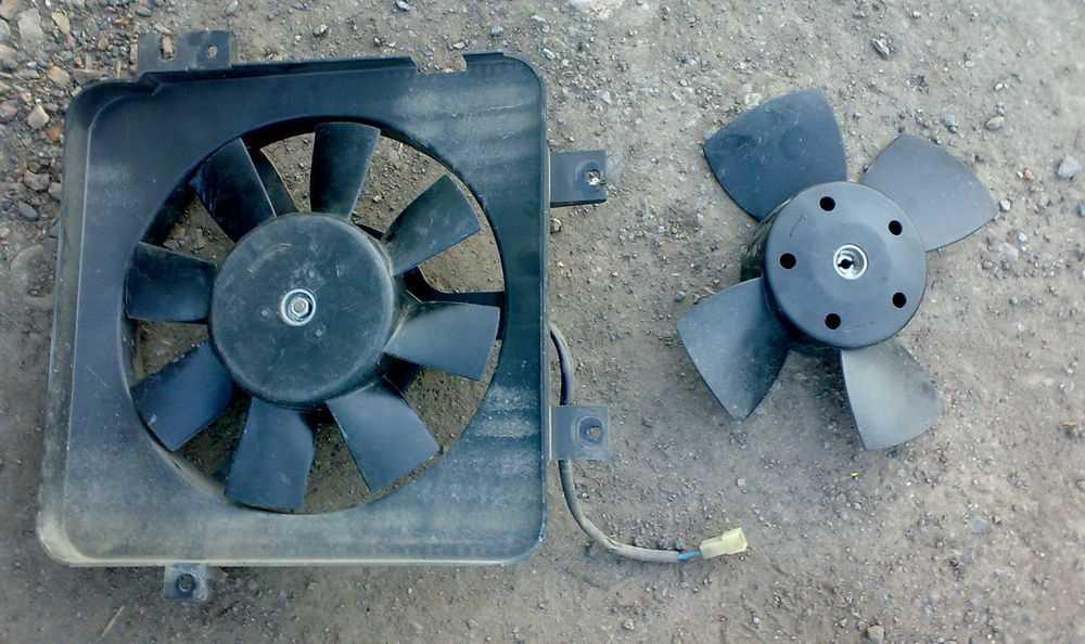 Электродвигатель на вентиляторе ВАЗ-2112