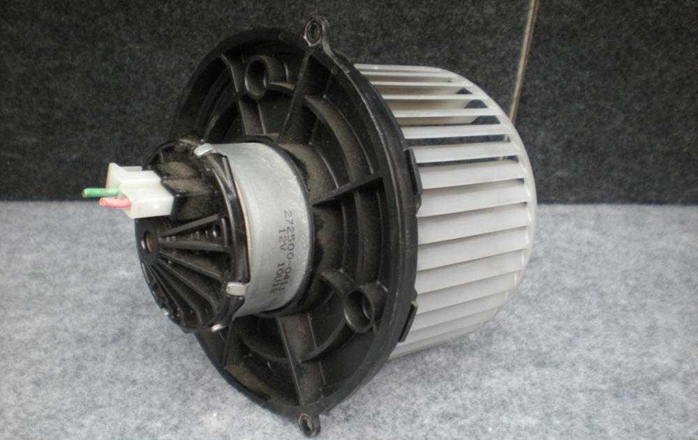 Замена вентилятора