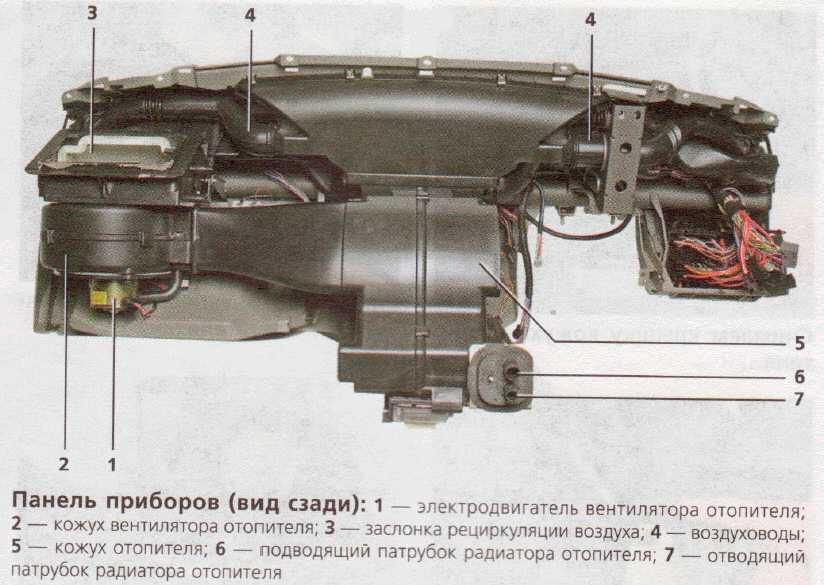 Панель-приборов-сзади-Лада-Калина