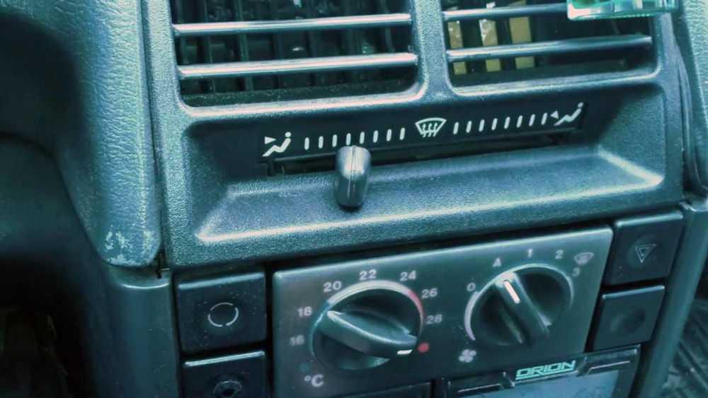 Печка автомобиля ВАЗ-2110