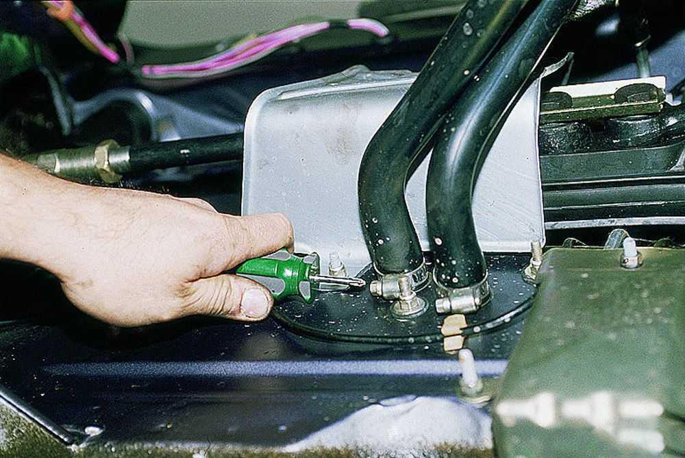 Ремонт и замена крана печки ВАЗ-2110