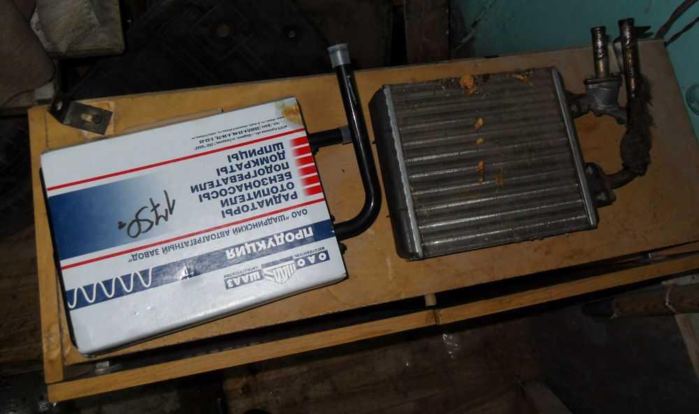 Ремонт радиатора печки ВАЗ-2107