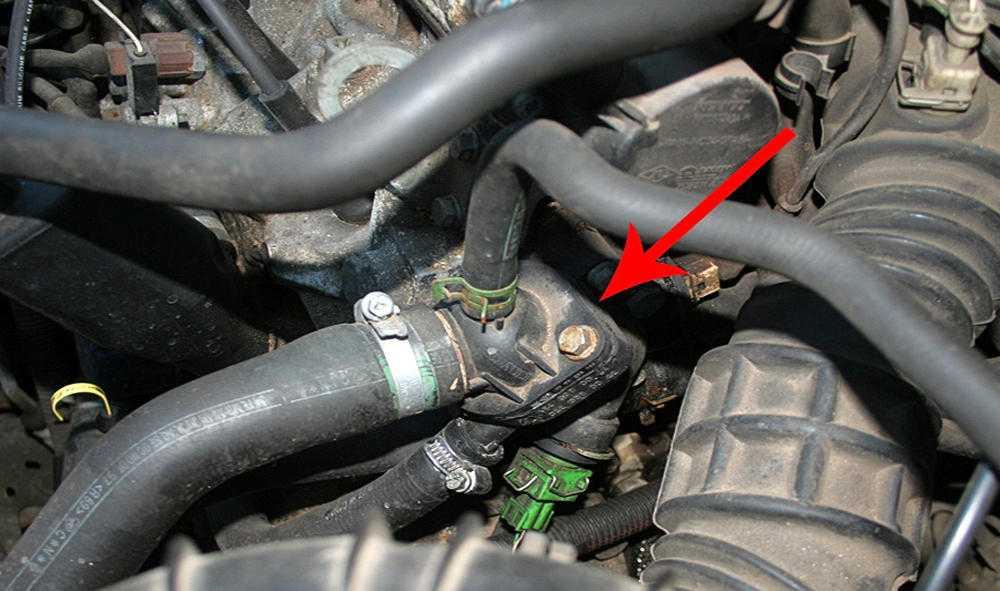 Термостат двигателя неисправен