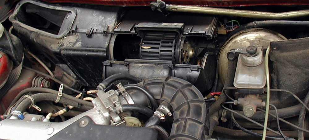 Система отопления ВАЗ-2110