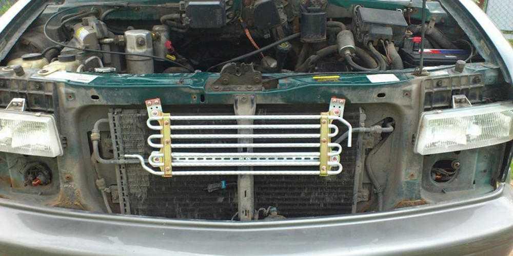 Установка дополнительного радиатора