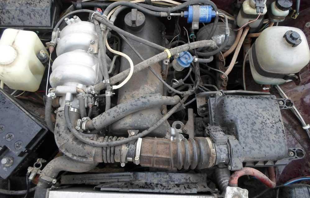 ВАЗ-2107 радиатор печки