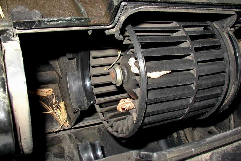 Вентилятор печки ВАЗ-2110