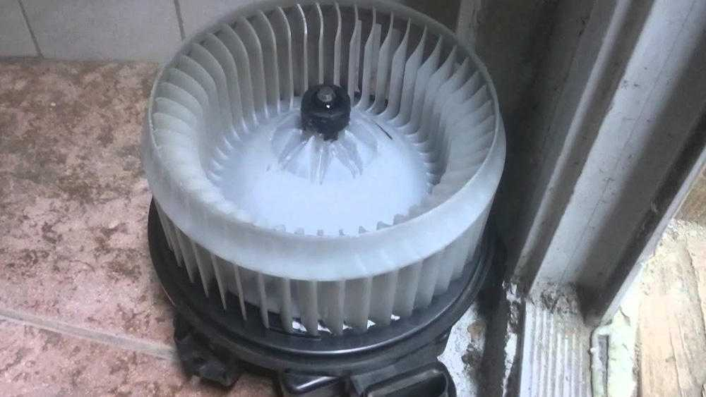 Поломка печного вентилятора