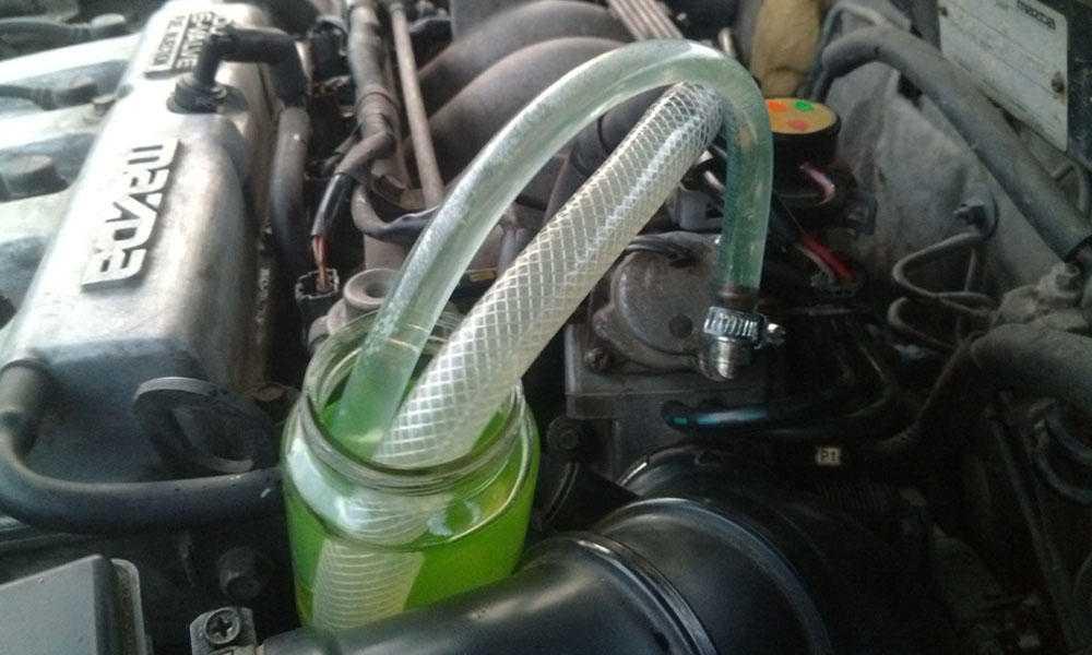 Завоздушивание системы охлаждения