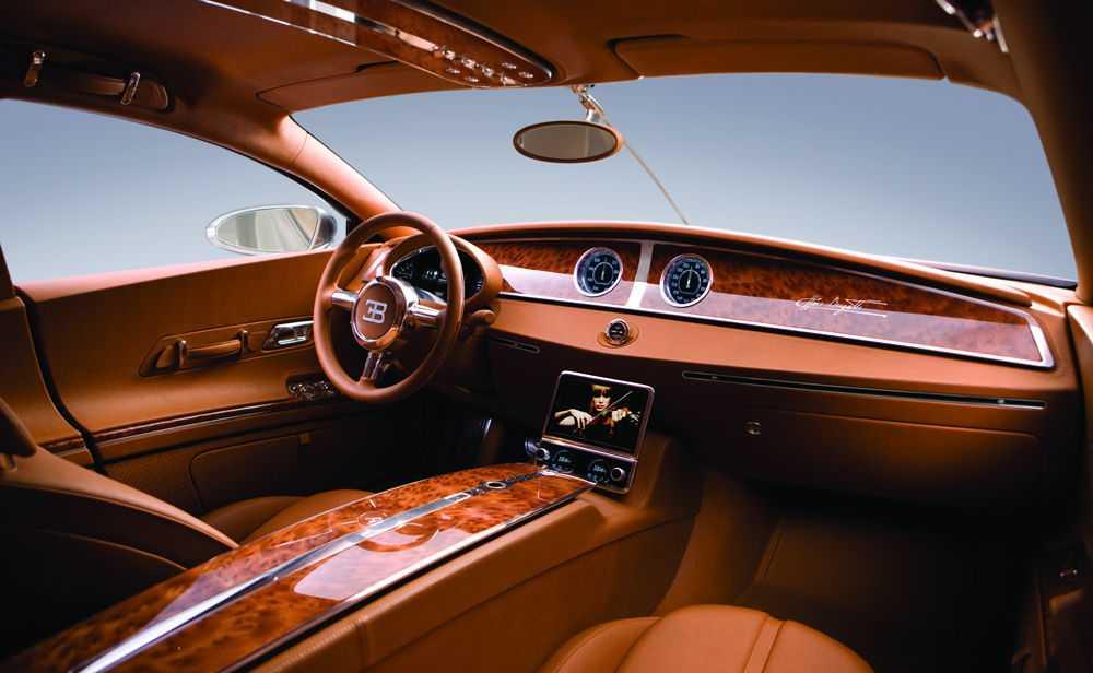 Салон автомобиля Bugatti 16 C Galibier