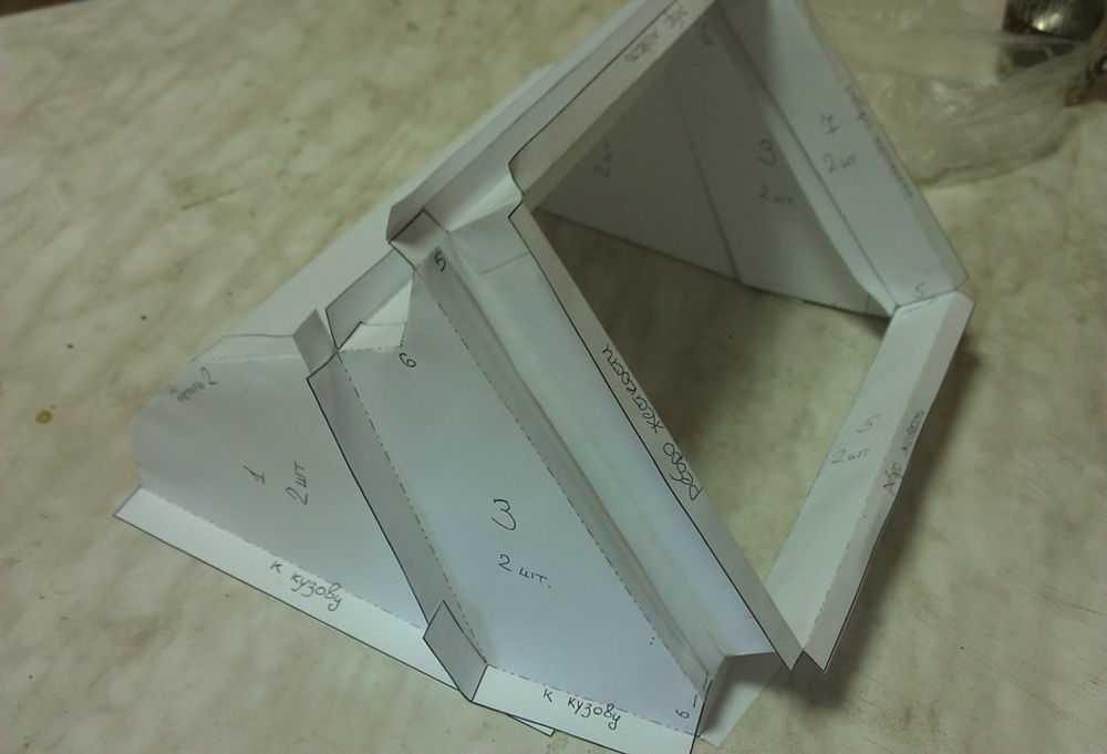 Бумажный макет адаптера