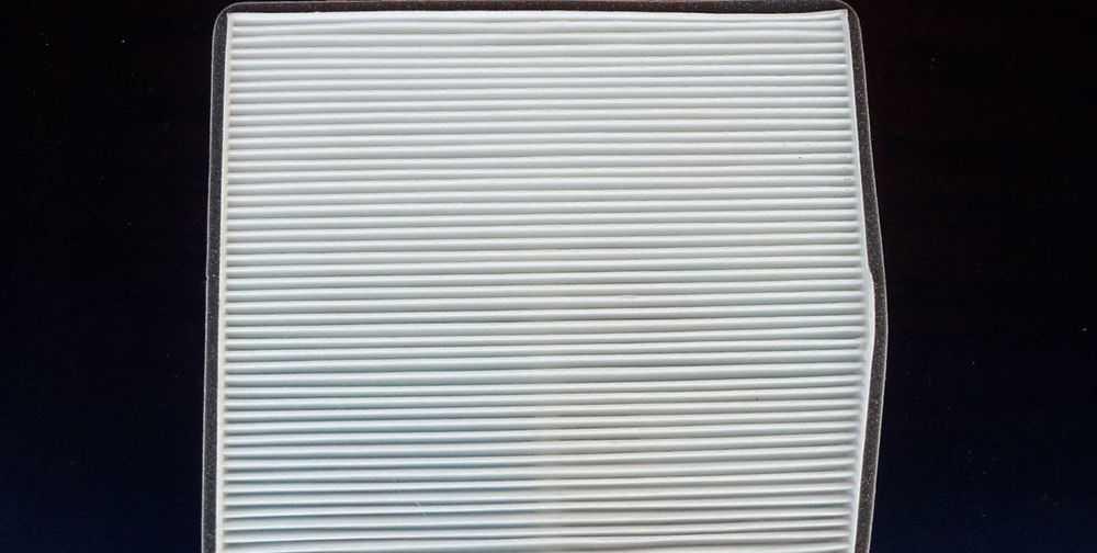 Бумажный салонный фильтр