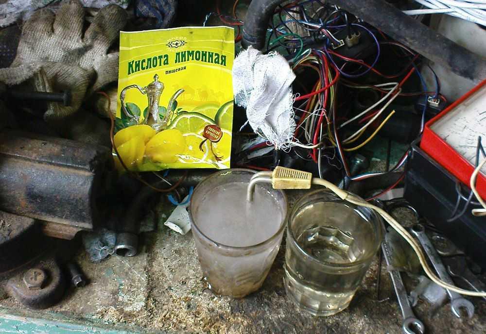 Чем промыть радиатор печки Daewoo Nexia