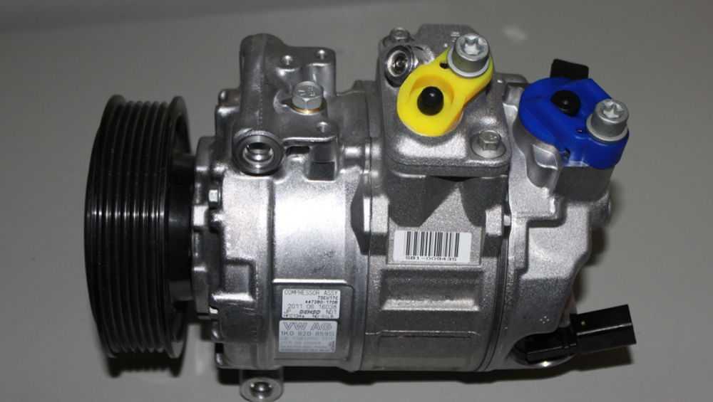 Демонтаж компрессора с автомобиля