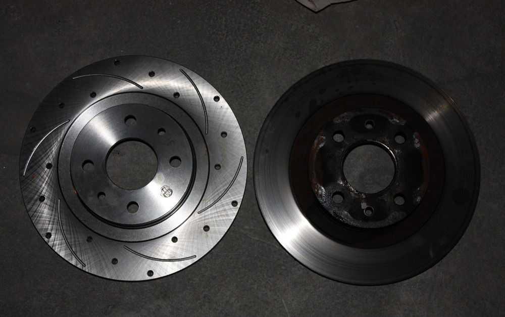 Тормозные диски на Приору