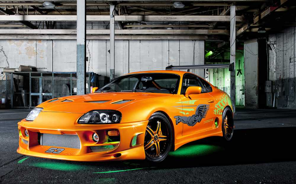 Toyota Supra с тюнингом