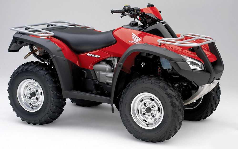 Квадроцикл утилитарный красный