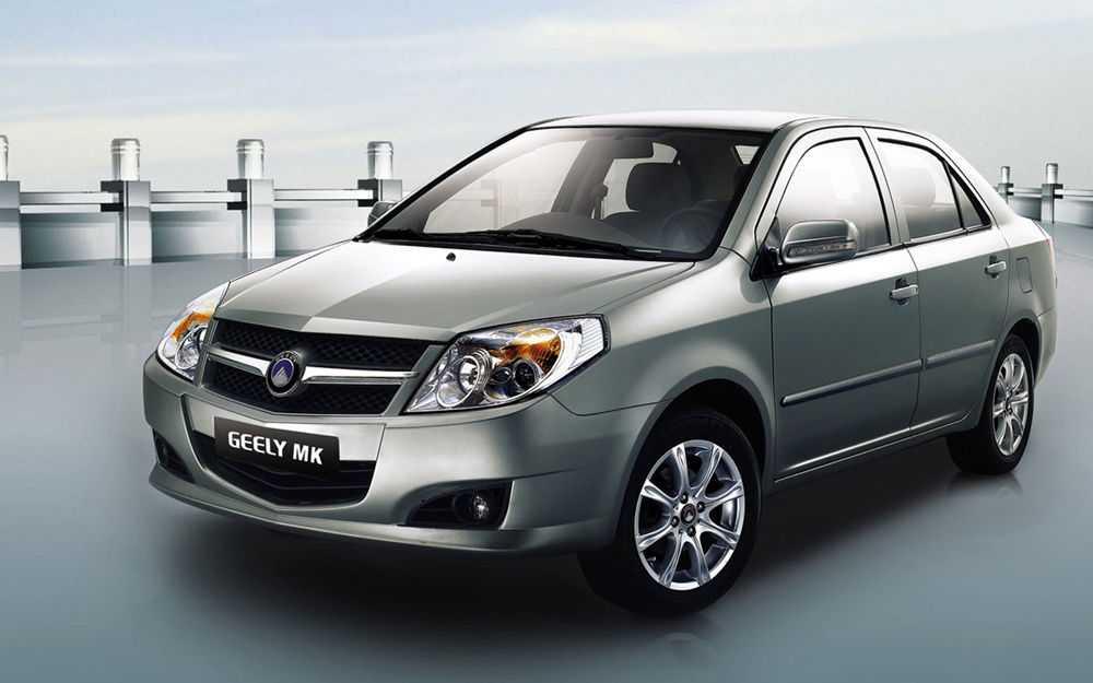 Geely MK седан