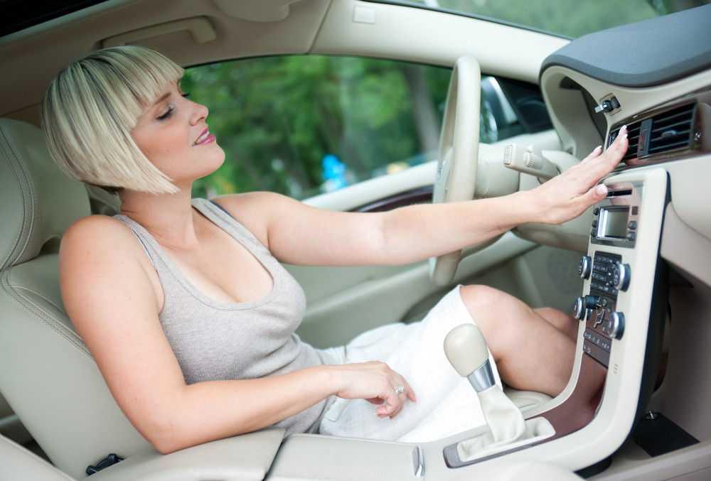 Холодный воздух в автомобиле