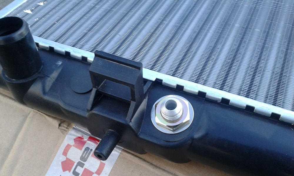 Извлеченный радиатор отполения