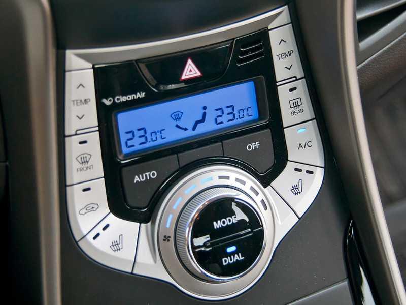 Кнопка OFF - климат-контроль
