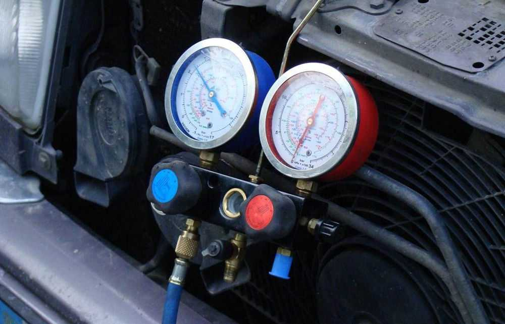 Контроль давления в автокондиционере